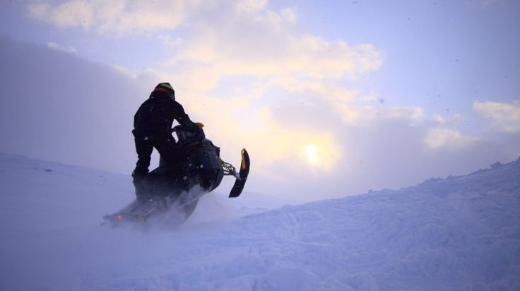 Longer trails - snowmobile safari -Rovaniemi, Lapland, Finland