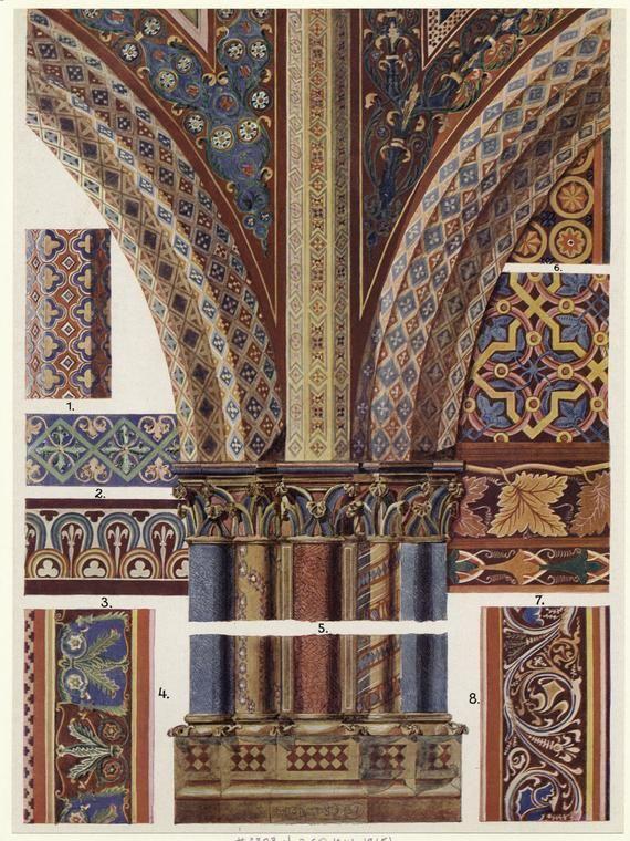 Средневековое искусство и готический орнамент Средневековое искусство и готикический орнамент #31