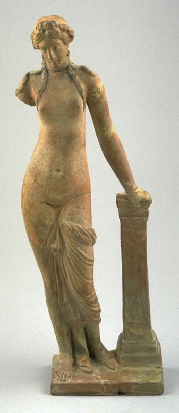 Ancient Peoples Standing Woman     Greek 2nd Century B.C. Source: Fine Arts Museums of San Francisco