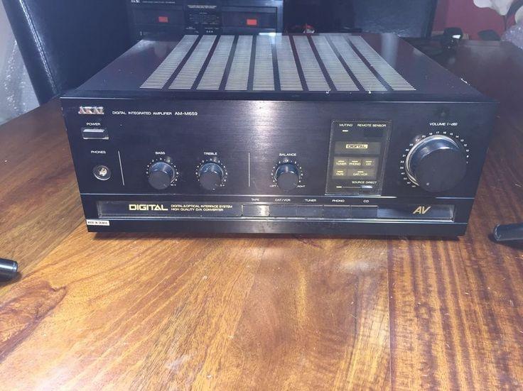 AKAI DIGITAL INTEGRATED AMPLIFIER AM-M659 Retro Old skool  in Sound & Vision, Home Audio & HiFi Separates, Amplifiers & Pre-Amps | eBay!
