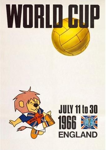 World Cup 1966 England Official Poster
