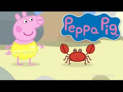 Peppa Pig Daddy Puts up a Picture At the Beach Season 1 Episode 47 48 - YouTube