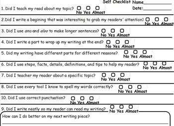 Rate Your Writingnote To Self Use Rubric From Lucy Calkins