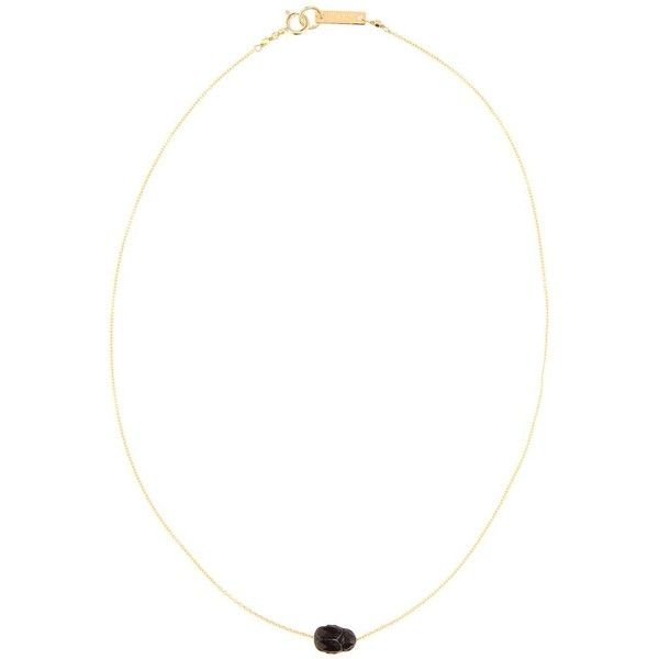 Isabel Marant Pendant Necklace ($170) ❤ liked on Polyvore featuring jewelry, necklaces, gold, yellow gold necklace, pendant necklaces, gold jewellery, isabel marant jewelry and gold necklace
