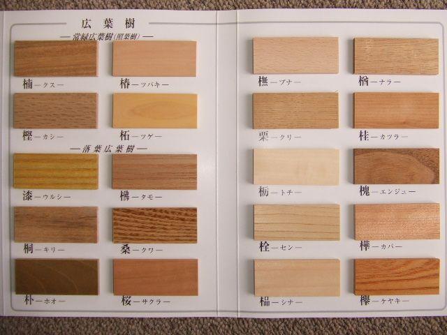 木材 種類 - Google 検索