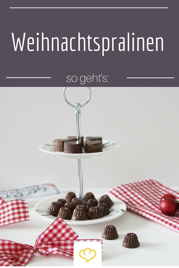 Cocos Weihnachtspralinen mit  Zimt, Kardamom und feiner Zartbitterschokolade eignen sich auch toll zum Verschenken!