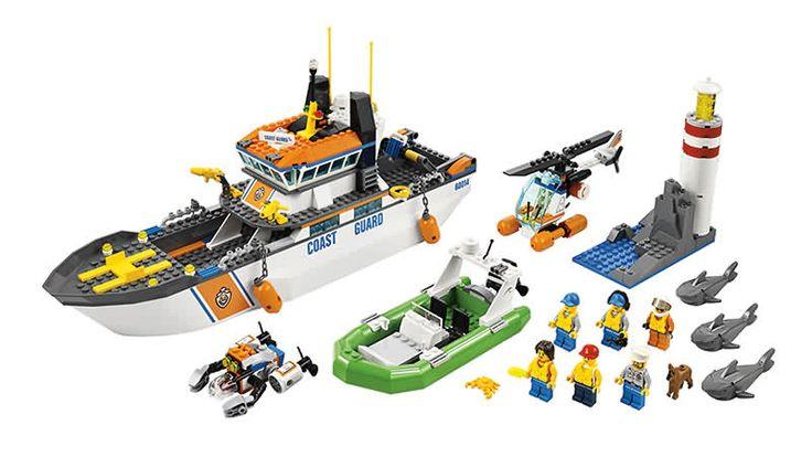 Lego Coast Guard.