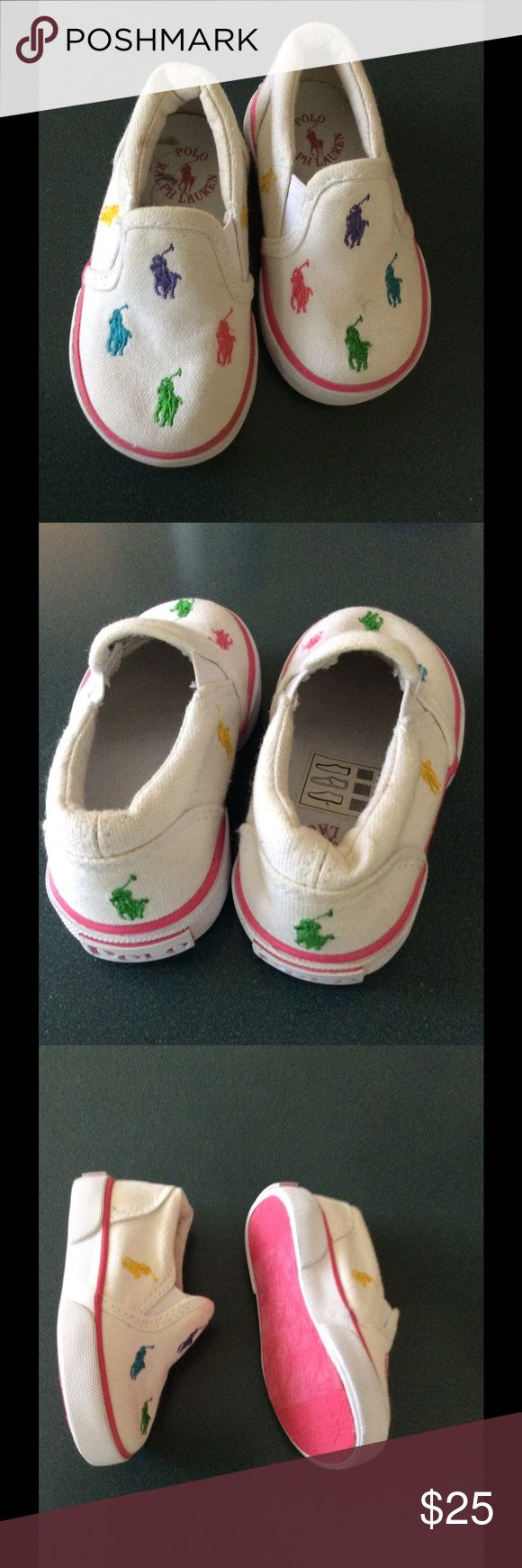 New Ralph Laurent Baby  size 4 New condition, Ralph Lauren girl shoes size 4 Ralph Lauren Shoes Sneakers