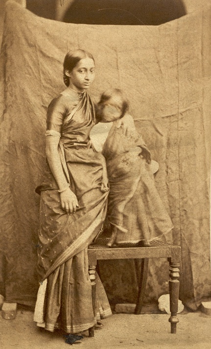 South Indian woman and child.1867