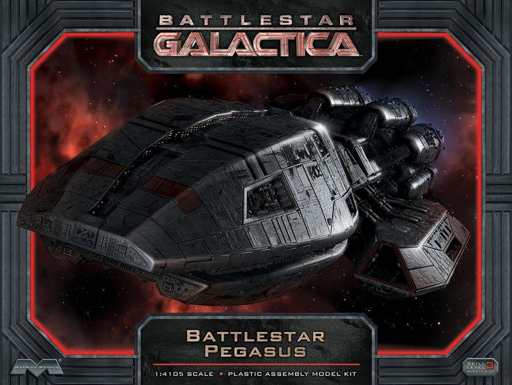 FabGearUSA - Battlestar Galactica Pegasus Model Kit, $64.95 (http://www.fabgearusa.com/battlestar-galactica-pegasus-model-kit/)