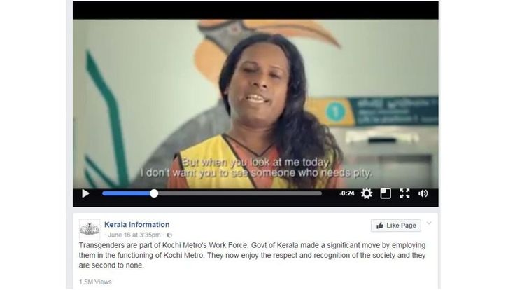 A train company in India hires dozens of transgender workers, touching off a huge conversation.