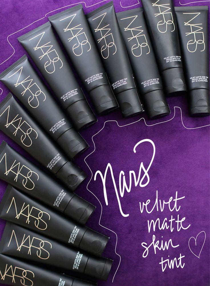 Velvet Matte Swatches: NARS Velvet Matte Skin Tint SPF 30 Makes Makeup Life