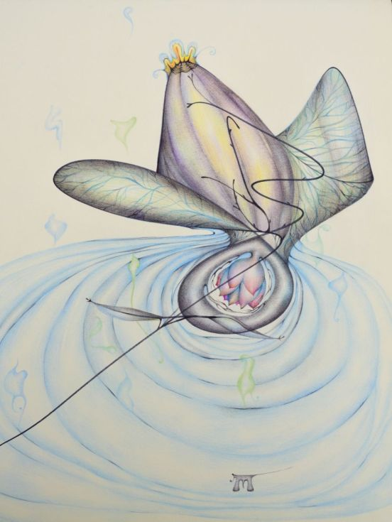 """ARTFINDER: Within by Manuela Marchis - """"I am the shore and the ocean, awaiting myself on both sides.""""   Dejan Stojanovic, The Shape"""