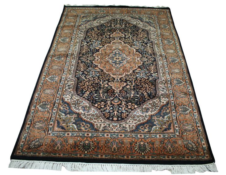Hand-knotted Antique Wool Carpet Rug Oriental Area Rugs Carpet Area Carpet EDH #Unbranded #carpet