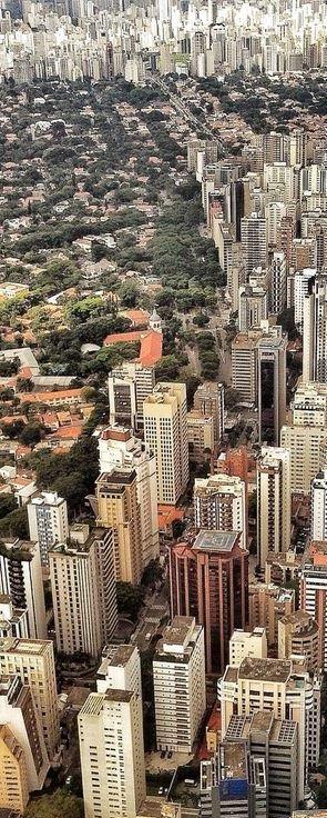 Cidade de São Paulo no estado de mesmo nome, Brasil.