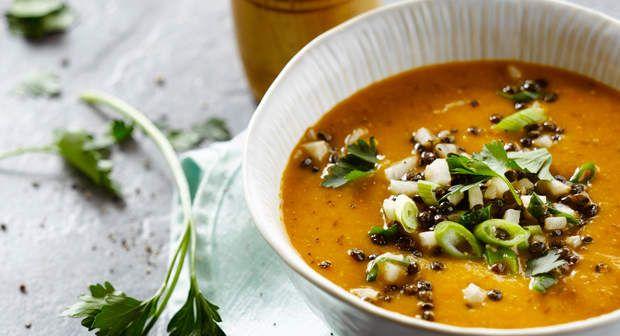 Soupe de lentilles à la marocaineDécouvrir la recette de la soupe de lentilles à la marocaine