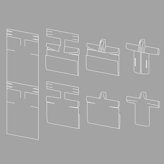 Yield -  coat / zero waste sewing pattern