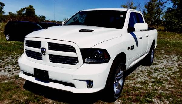 2017 Ram 1500 Quad Cab Sport - Ram Trucks debuted a 1500 Quad Cab pickup with European-homologated Mopar accessories at the 2016 IAA Commercial Vehicles