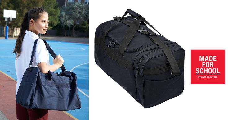 Our Ransford Bag is great for sports days and sleepovers in the holiday.  The only trouble will be convincing your kids not to pack the kitchen sink because it could fit!
