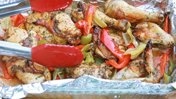 Ali di pollo ai peperoni fiammanti