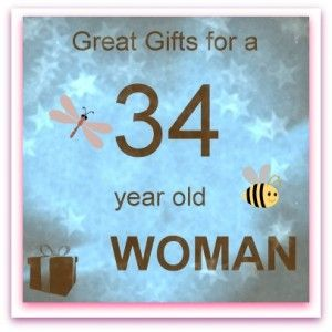 34 Year Old Woman Gifts