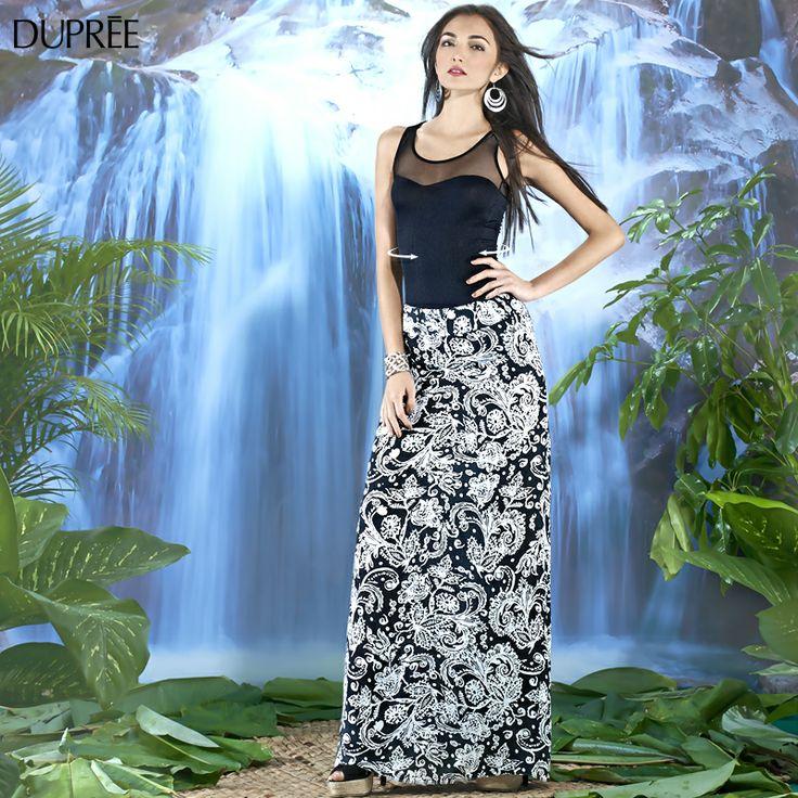 Recuerda que las faldas largas son una alternativa muy femenina, pues ademas de estilizar la figura, son ideales para una ocasión especial.