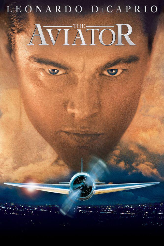 The Aviator Movie Poster - Leonardo DiCaprio, Cate Blanchett, Kate Beckinsale  #TheAviator, #MoviePoster, #Drama, #MartinScorsese, #CateBlanchett, #KateBeckinsale, #LeonardoDiCaprio