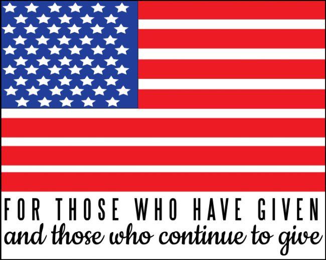 Memorial Day #Quote www.thirtyhandmadedays.com
