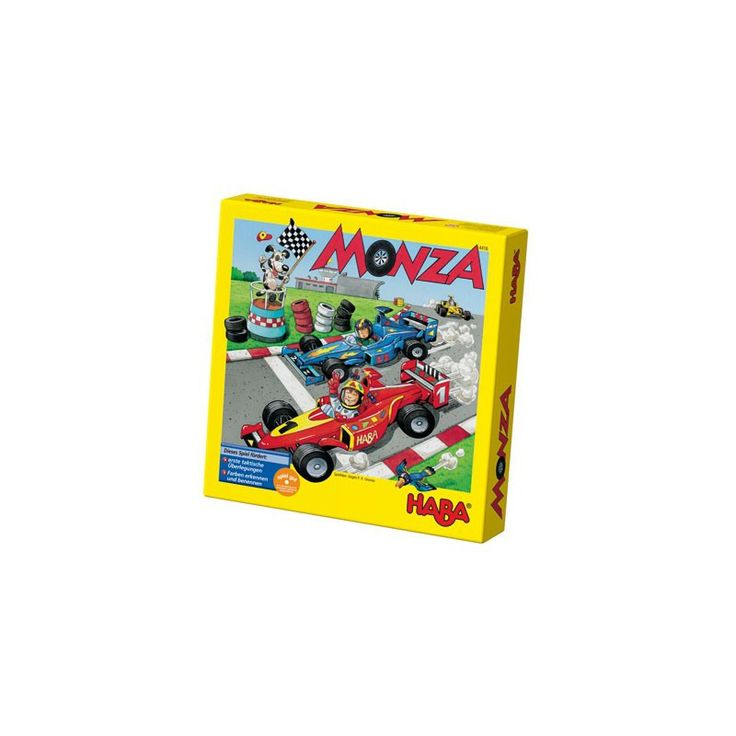 Monza - Juego De Mesa Con Mucha Táctica HABA HAB-302247-4416 Kinuma.com