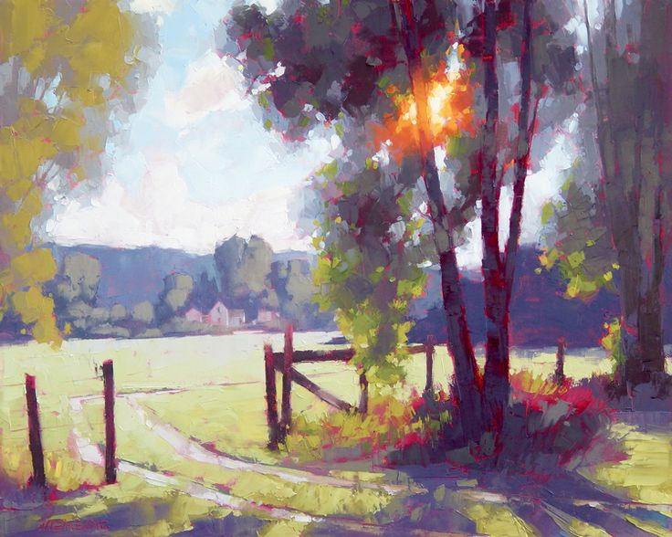 David Mensing Fine Art Art Sun Painting Fine Art