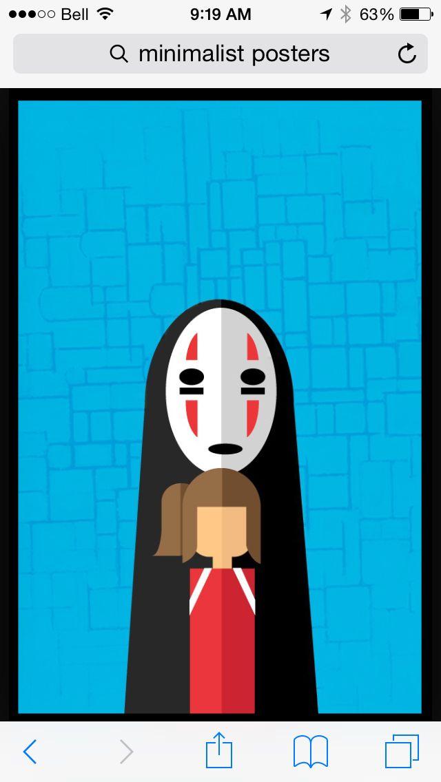 Spirited away | Minimalist poster, Poster, Vault boy