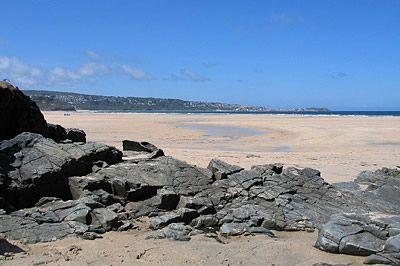 Beach at Hayle, Cornwall