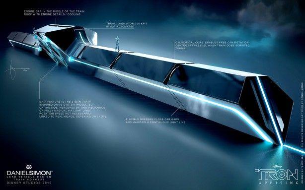 train concept design