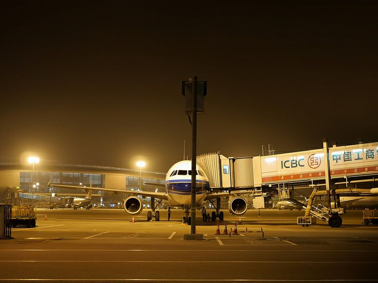 3 am at Guangzhou Baiyun International Airport