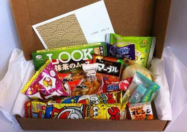 Japanese Candy Subscription Box | 17 Amazing Food Subscriptions You'll Wish Someone Would Get You