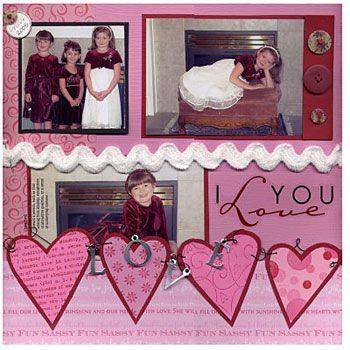 171 best Scrap - Valentine\'s Day images on Pinterest | Scrapbook ...