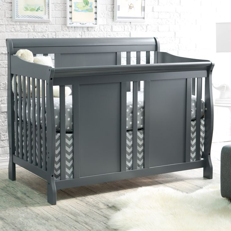 Have to have it. Thomasville Dover 3 in 1 Convertible Sleigh Crib - Gray - $249.99 @hayneedle