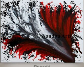 LARGE SURREAL PAINTING 72 Wall Art Surreal by ContemporaryArtDaily