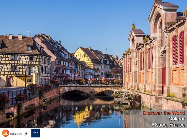 Walt Disney would surely approve of Colmar, with its timber-framed houses, colorful facades, and flower-lined canal.  #onlinebookingsystem #FIT #Colmar #Alsace #France #discovertheworld #instadaily #todayspost#view #viewoftheday #views #picoftheday#DorakHolding #GB #GlobalBeds