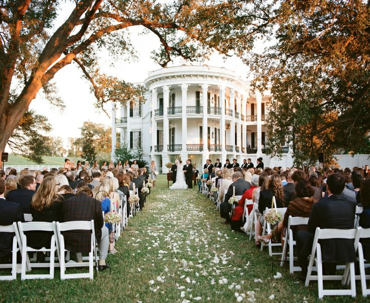 Wedding Ceremony At Nottoway Plantation Feature In 2013 Mississippi Magazine Of Treen Turnage