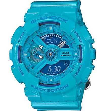 awesome G-Shock - S Series - Blue - GMAS110CC-2A - For Sale Check more at http://shipperscentral.com/wp/product/g-shock-s-series-blue-gmas110cc-2a-for-sale/