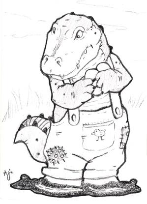 Best 62 Crocodile Illustration images on Pinterest