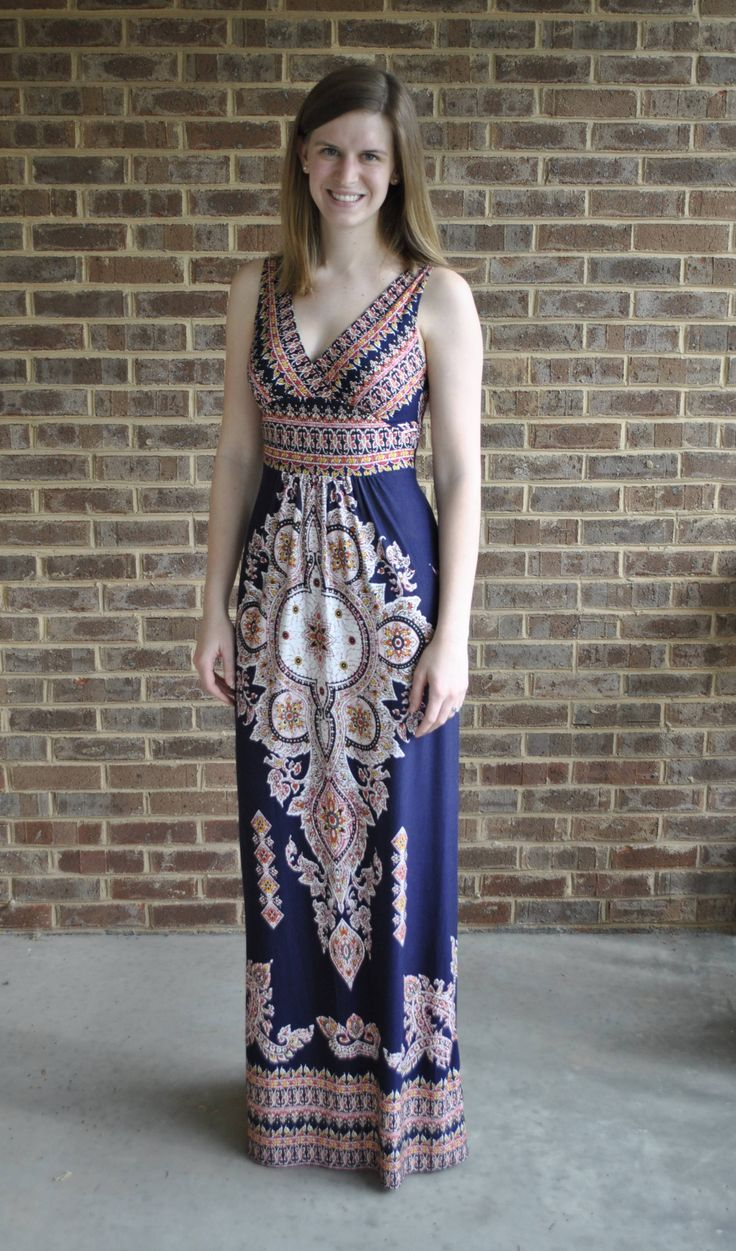 Trunk Club Review #4 | Safari with Sarah // Felicity & Coco Jersey Maxi Dress