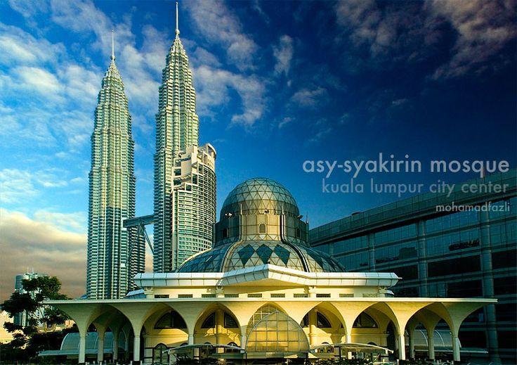 Asy-Syakirin Mosque, KLCC by ~mohamadfazli on deviantART