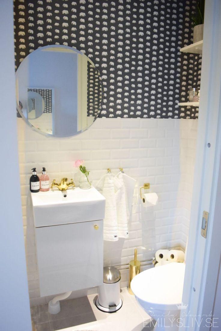 Die besten 25+ Liten toalett inredning Ideen auf Pinterest ...
