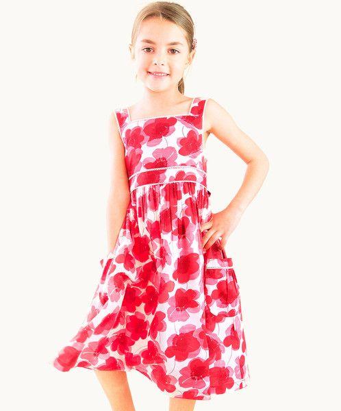 RED POPPY FIELDS DRESS - 50% OFF NOW $26.95  was $54.00