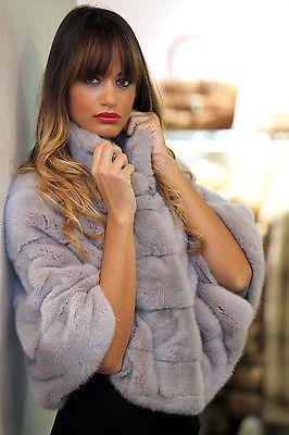 GIACCA PELLICCIA VISONE FEMMINA VIOLET PELZ PELZMANTEL JACKE NERZ FOURRURE in Abbigliamento e accessori, Donna: abbigliamento, Cappotti e giacche | eBay