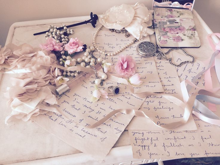 "Before the shoot of ""Until Death"" - Boman's letters on her table..."