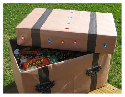 treasure chest. cool for prizes teachers give out for good work, behavior, etc.