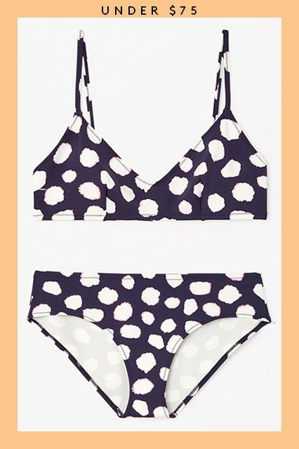 Summer's Not Over Yet — 21 Sweet Swimsuits On Sale Now #refinery29  http://www.refinery29.com/2015/08/91653/swimsuits-on-sale#slide-3  Spotted: The beach babe in the polka-dot bikini....